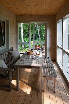 screen porches, idea, back porches, small hous, house plans