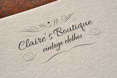 Elegant Fashion Boutique Logo  Make your own vector fashion shop / boutiqe / busniess logo!