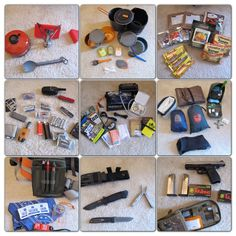 Contents of my Bug Out Bag