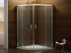 Bathroom on pinterest small bathrooms small bathroom showers and walk in shower - Shower cubicles for small spaces ...
