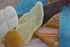 pattern, beach glass, glass addict, sea glass, seaglass, rare sea