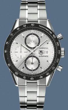 TAG Heuer Men's CV2011.BA0786 Carrera Automatic Chronograph Watch from TAG Heuer @ TAG-Heuer-Watches .com