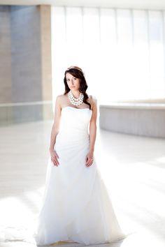 Wedding Gown by Demetrios ~ Photography by ivy-weddings.com
