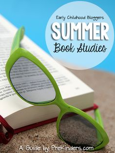Summer Book Studies for Early Childhood Teachers summer books, teacher, preschool, book studi