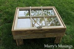 How to Make a Window Table