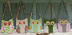 owl purse sewing pattern, pillow patterns, mothers day, diaper bags, purse sewing patterns, owl bag, tote bags, bag patterns, owl patterns