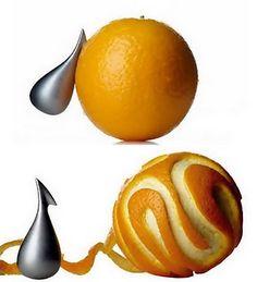 for me : Alessi orange peeler