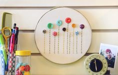 Buttons & thread... two of my favorite things