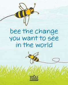 "Share the Buzz! Help ""bee"" the solution to declining honey bee populations."