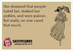 Her Dreams - #Ecard, #Humor, #Mean