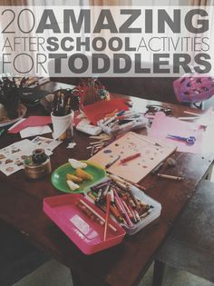 20 Simply Amazing After-School Activities For Toddlers