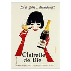 Fab.com | Clairette de Die Print 16x22
