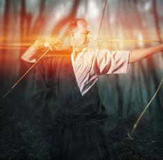 Kyudo by Justin Bartels, via Behance