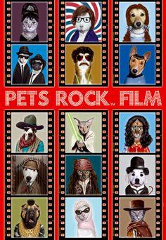 """Puzzle EDUCA """"Pets Rock Film"""", 500 piezas."""