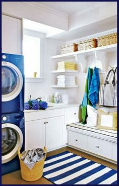 Delightful Laundry Room