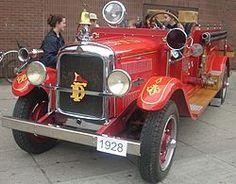 1928 American LaFrance Engine
