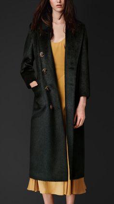 Alpaca Wool Topcoat
