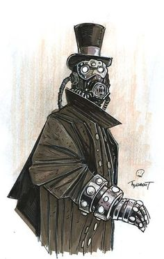 Victorian gas mask