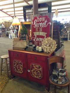 Barn Chic Antiques: More Barn Sale Artisans and Designers
