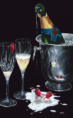 Champagne Tango by Michael Godard