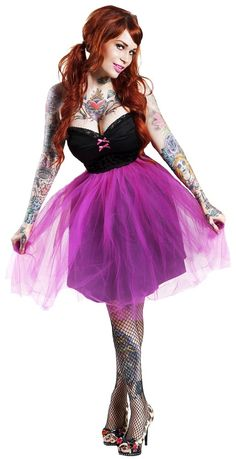 PINKY PINUPS TUTU DRESS PINK