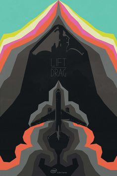 """""""Lift"""" in the #Intel #SciArt Series depicts the economics of drag in airplane designs."""