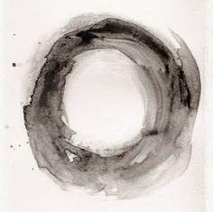 black + white ink drawing