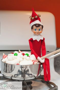 cook, shelf idea, christmas elf, jingl, batch, elf ideas, buddi, shelves, elf stew
