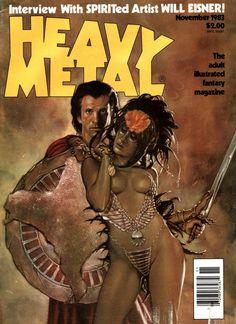 Heavy Metal - Vol. 7 No. 8 November 1983 - Dave Dorman