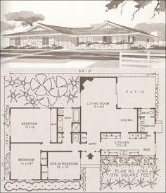 1955 Estes Home Plans - 3740