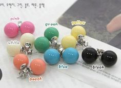 Fashion Lovely QQ Candy Ear Studs for only $6.99 #Fashion #Accessories