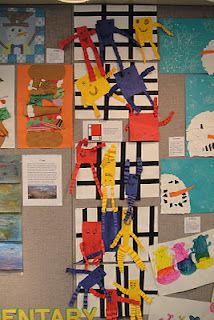 Fantastic Mondrian projects to do with younger students primary colors, squar, art lesson, mondrian inspir, collag, teaching blogs, kindergarten projects, mondrian kindergarten, friend