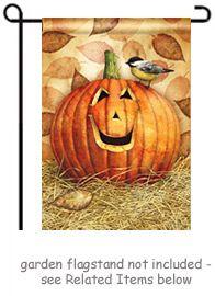 Pumpkin Pals Garden Flag