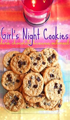 Undressed Skeleton — Girls Night Cookies : Dark Chocolate Banana Oatmeal 95 Calories