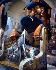 "BLACK ""N"" THE DAYZ | by Frank Morrison"