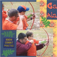 Cub Scout book - Scrapbook.com