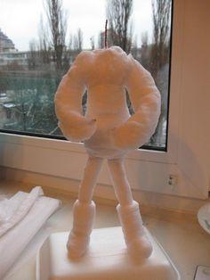 Мастер-класс по изготовлению Снегурочки из ваты