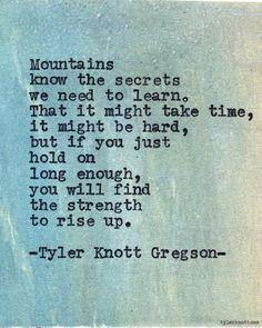 Tyler Knott — Typewriter Series #566by Tyler Knott Gregson