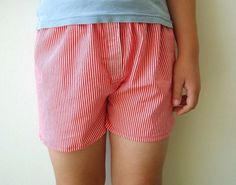 How to Make Boxer Shorts | Sew Mama Sew |