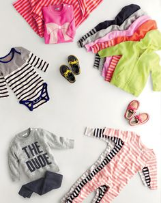 J.Crew baby clothes & shoes.