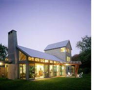 Floor plans elevations on pinterest modern farmhouse for Estes twombly architects