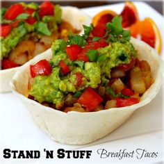 Stand N Stuff Breakfast Tacos #familyfunnight