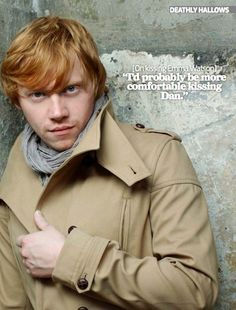 Rupert [on kissing Emma Watson]