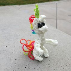Rainbow loom unicorn!