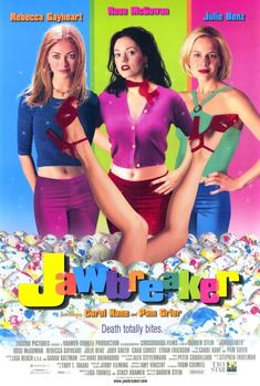 I love the use of saturated color in '90s teen movie posters. This was one of my fav movies as a teen of the 90s