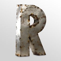 Find it at the Foundary - Metal Letter R - Small