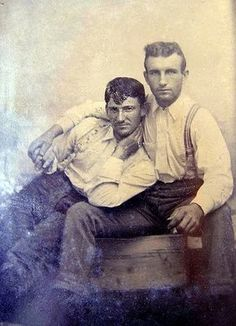 Adorable Vintage Photographs of Gay Couple