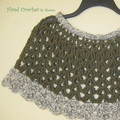 Capelet / Shoulder Warmer / Shawl / Poncho by HandCrochetbySharon, $34.00