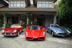 A Stable Full of Classic Ferrari
