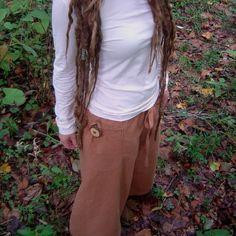 Hemp Pants  Organic Cotton Dharma Pants  Made by Backporchthreadz